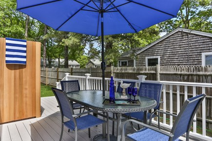 Yarmouth Cape Cod vacation rental - Beautiful new Deck