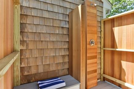 Yarmouth Cape Cod vacation rental - Cedar Shower