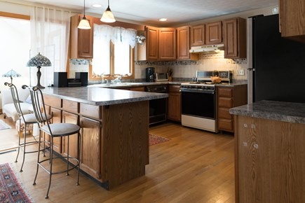 Hyannis Cape Cod vacation rental - Eat at the kitchen counter