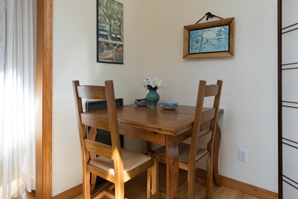 Hyannis Cape Cod vacation rental - Breakfast nook
