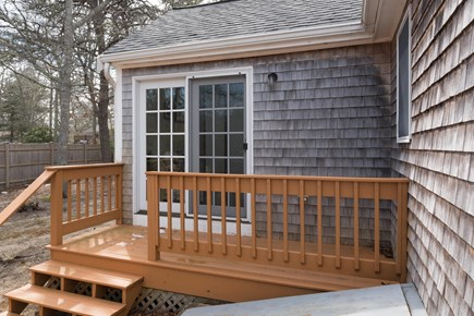 Hyannis Cape Cod vacation rental - Greet guests on the deck