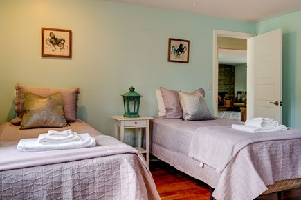 Barnstable, Forestdale Cape Cod vacation rental - Twin beds with a light color scheme