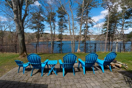 Barnstable, Forestdale Cape Cod vacation rental - Lounge with a lake view