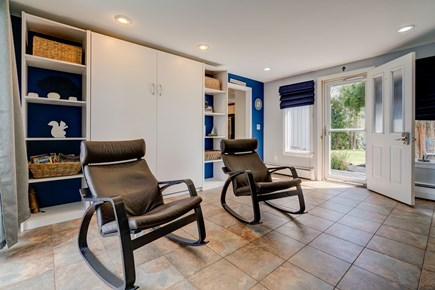 Barnstable, Forestdale Cape Cod vacation rental - Enjoy patio style chairs inside