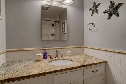 Barnstable, Forestdale Cape Cod vacation rental - Bathroom for twin beds
