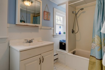 West Yarmouth Cape Cod vacation rental - Rinse off after the beach
