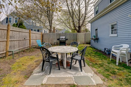 West Yarmouth Cape Cod vacation rental - Enjoy the bbq and outdoor dining area