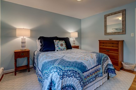Falmouth Cape Cod vacation rental - Master bedroom is blue like the ocean