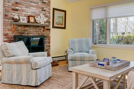 Falmouth Cape Cod vacation rental - Cozy up by the fire