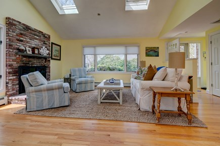 Falmouth Cape Cod vacation rental - Swap stories in the living room