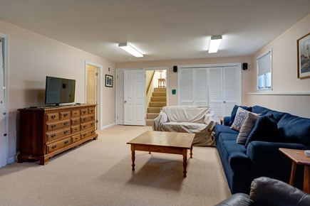 Falmouth Cape Cod vacation rental - Living area around the TV