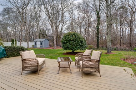 Falmouth Cape Cod vacation rental - Family time outdoors