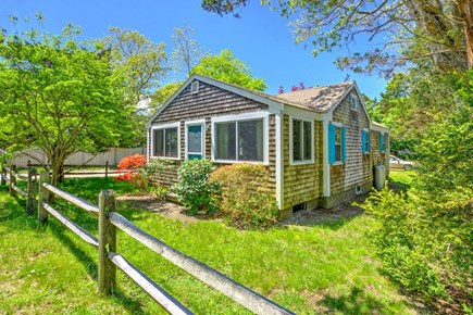 East Sandwich Cape Cod vacation rental - Road side view of the cottage.