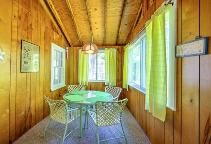 East Sandwich Cape Cod vacation rental - Perfect spot for a late night game of cards!