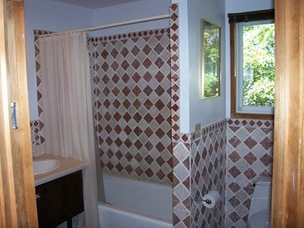 Wellfleet Cape Cod vacation rental - Full bath off of den by the 3 bedrooms