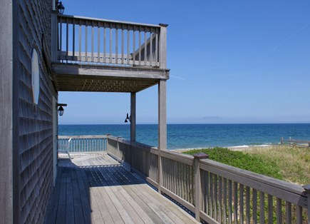 East Sandwich Cape Cod vacation rental - Views from both level decks.