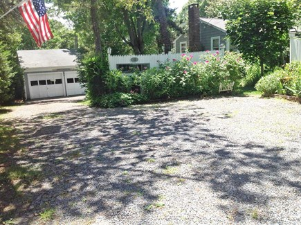 East Orleans  Cape Cod vacation rental - View from the driveway
