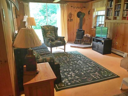 East Orleans  Cape Cod vacation rental - Lower level sitting room w/ own entrance, walk out to back yard