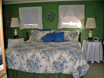East Orleans  Cape Cod vacation rental - Master bedroom with King bed, private bath