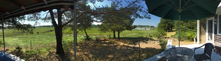Eastham Cape Cod vacation rental - Back yard low tide view