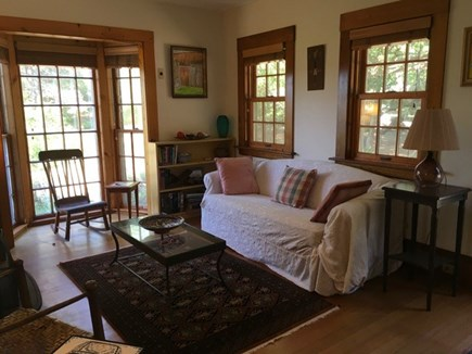 Eastham Cape Cod vacation rental - Living room with views