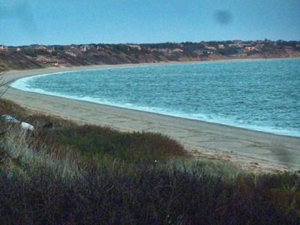 North Truro Cape Cod vacation rental - Cape Cod Bay across the street