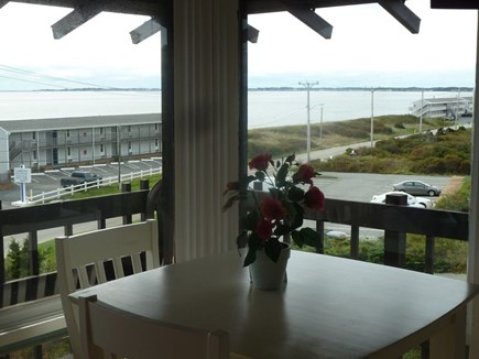 North Truro Cape Cod vacation rental - Dine & relax overlooking the bay across the street