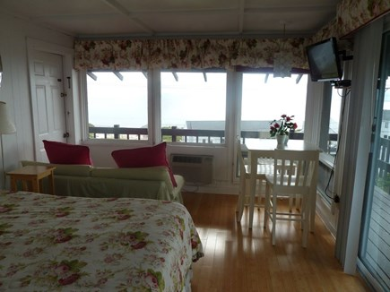 North Truro Cape Cod vacation rental - Living, dining and sitting area all with amazing water views