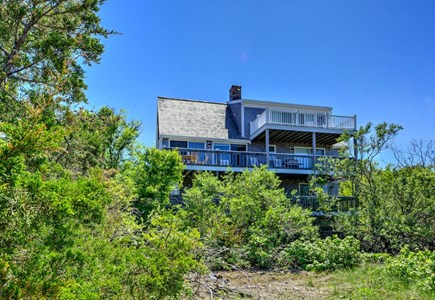 East Sandwich Cape Cod vacation rental - Private location on 10 acres with multi level decks.