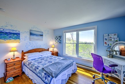 East Sandwich Cape Cod vacation rental - Bedroom with Double on middle level.