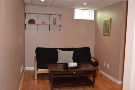 Harwich Cape Cod vacation rental - Futon in finished basement