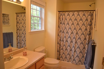 Harwich Cape Cod vacation rental - First floor full bath with walk-in shower.