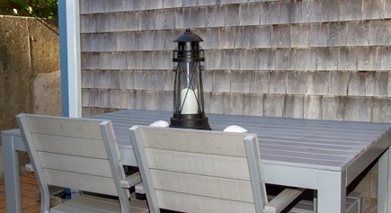 Provincetown Cape Cod vacation rental - Deck with table for 6