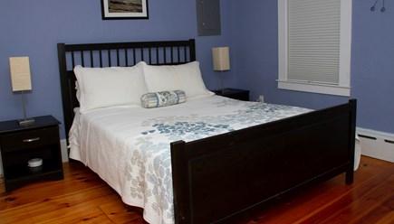 Provincetown Cape Cod vacation rental - Main floor bedroom with queen bed