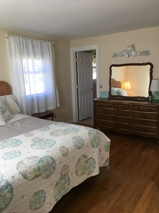 West Yarmouth Cape Cod vacation rental - King bedroom with 1/2 bath