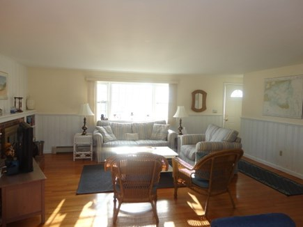 West Yarmouth Cape Cod vacation rental - Sunny lliving room