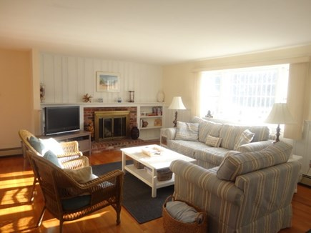 West Yarmouth Cape Cod vacation rental - Sunny Living room