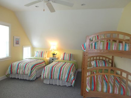 West Yarmouth Cape Cod vacation rental - 2nd floor bedroom - 4 twin beds & private bath