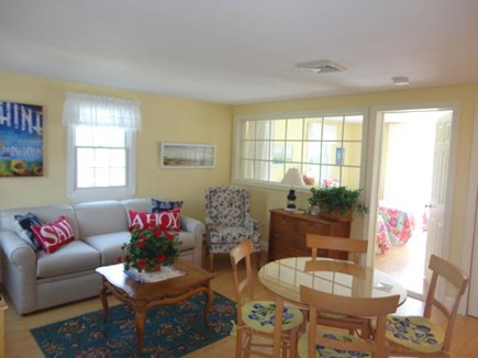 West Yarmouth Cape Cod vacation rental - Private attached apartment with living room, bedroom, & full bath