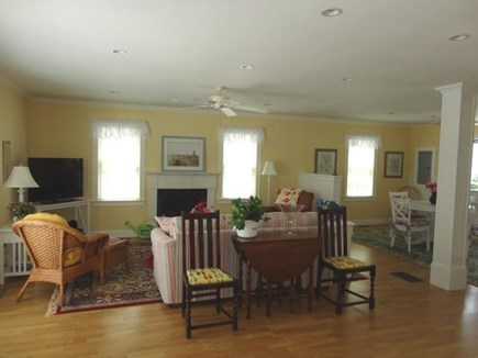 West Yarmouth Cape Cod vacation rental - Large comfortable living room