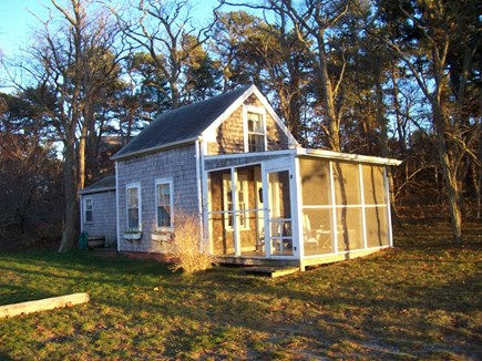Wellfleet Cape Cod vacation rental - Cottage facing water & Sunsets