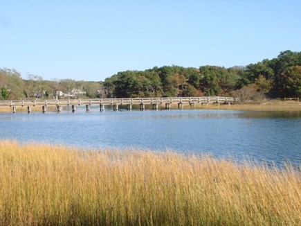 Wellfleet Cape Cod vacation rental - Path to Uncle Tim's Bridge which takes you to town