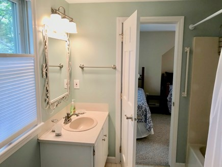 Orleans Cape Cod vacation rental - Bath (upstairs) with tub & shower