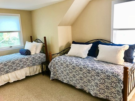 Orleans Cape Cod vacation rental - Bedroom 2 (upstairs) w/Twin & Trundle (2 twins)