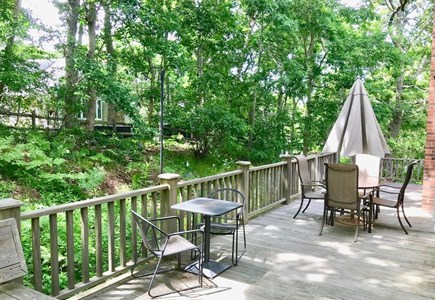 Orleans Cape Cod vacation rental - Wraparound deck (side of house)