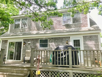 Orleans Cape Cod vacation rental - Back of house & deck