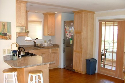 Eastham Cape Cod vacation rental - Open Kitchen & breakfast bar