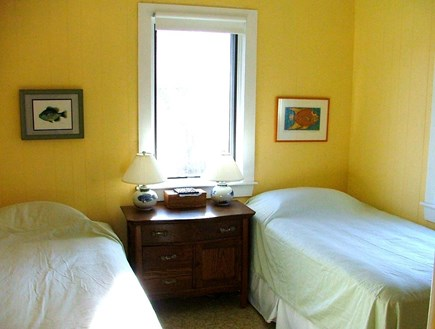 Eastham Cape Cod vacation rental - Bedroom w/2 Twins