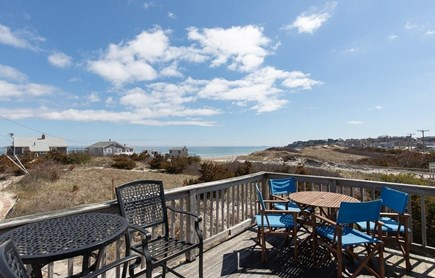 Manomet, White Horse Beach Manomet vacation rental - Gorgeous views overlooking beach and open space from deck