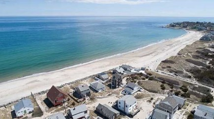 Manomet, White Horse Beach Manomet vacation rental - Stretch of sand adjacent to cottage at White Horse Beach.